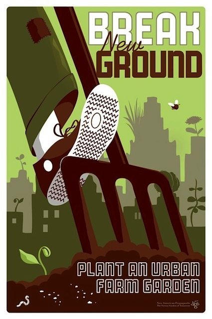 Breaking ground poster