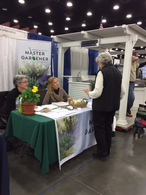 Jefferson Conunty Master Gardeners at the Louisville Home and Garden Show 2