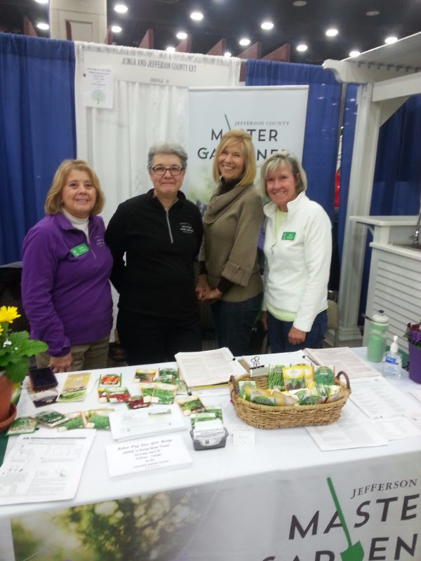 Jefferson Conunty Master Gardeners at the Louisville Home and Garden Show